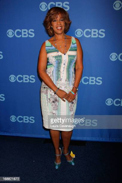 Gayle King attends the 2013 CBS Upfront at The Tent at Lincoln Center on May 15 2013 in New York City