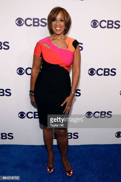 Gayle King attends the 2017 CBS Upfront at The Plaza Hotel on May 17 2017 in New York City
