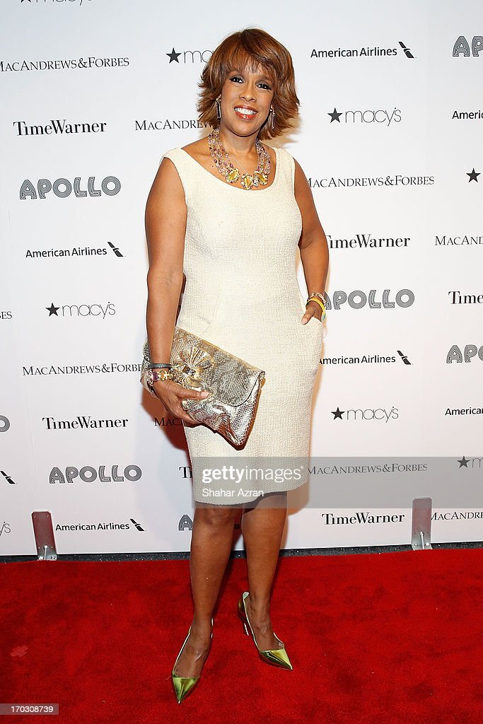 Gayle King attends the 8th annual Apollo Theater Spring Gala Concert at The Apollo Theater on June 10, 2013 in New York City.