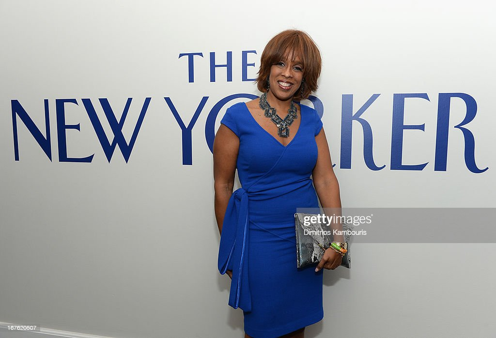 Gayle King attends The New Yorker's David Remnick Hosts White House Correspondents' Dinner Weekend Pre-Party at W Hotel Rooftop on April 26, 2013 in Washington, DC.