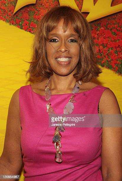 Gayle King attends the opening night of 'The Wiz' during the Encores Summer Stars Series at New York City Center on June 18 2009 in New York City
