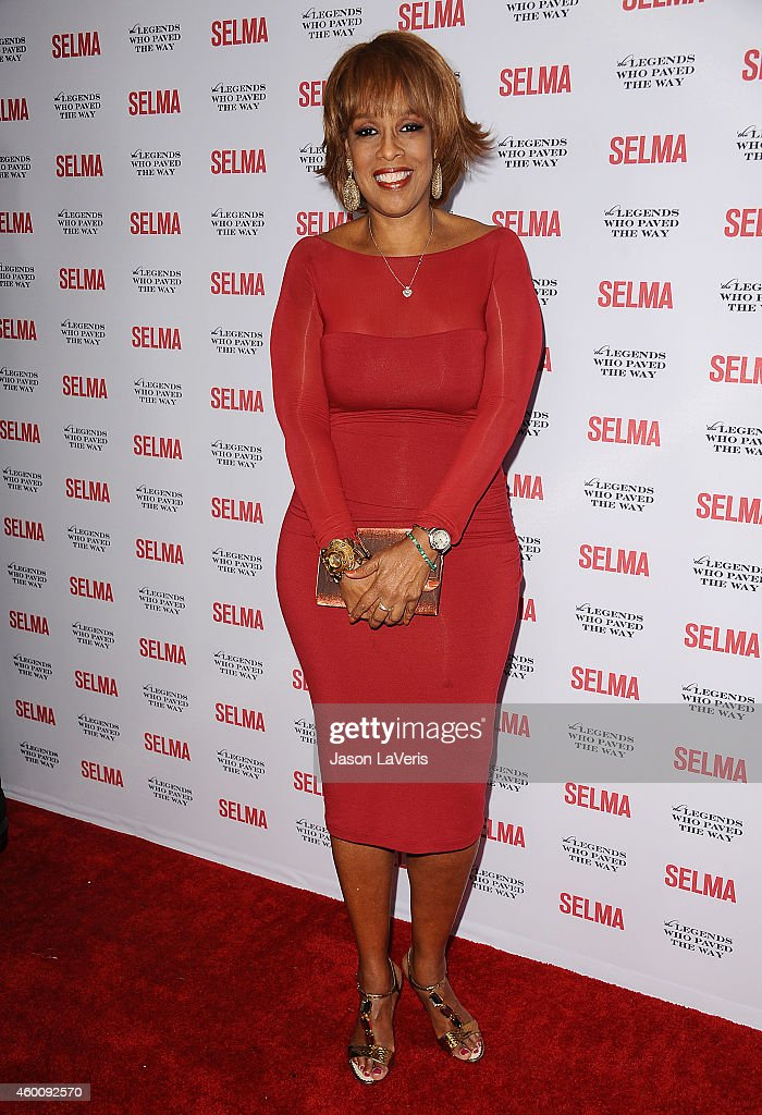 Gayle King attends the 'Selma' and the Legends Who Paved the Way gala at Bacara Resort on December 6, 2014 in Goleta, California.