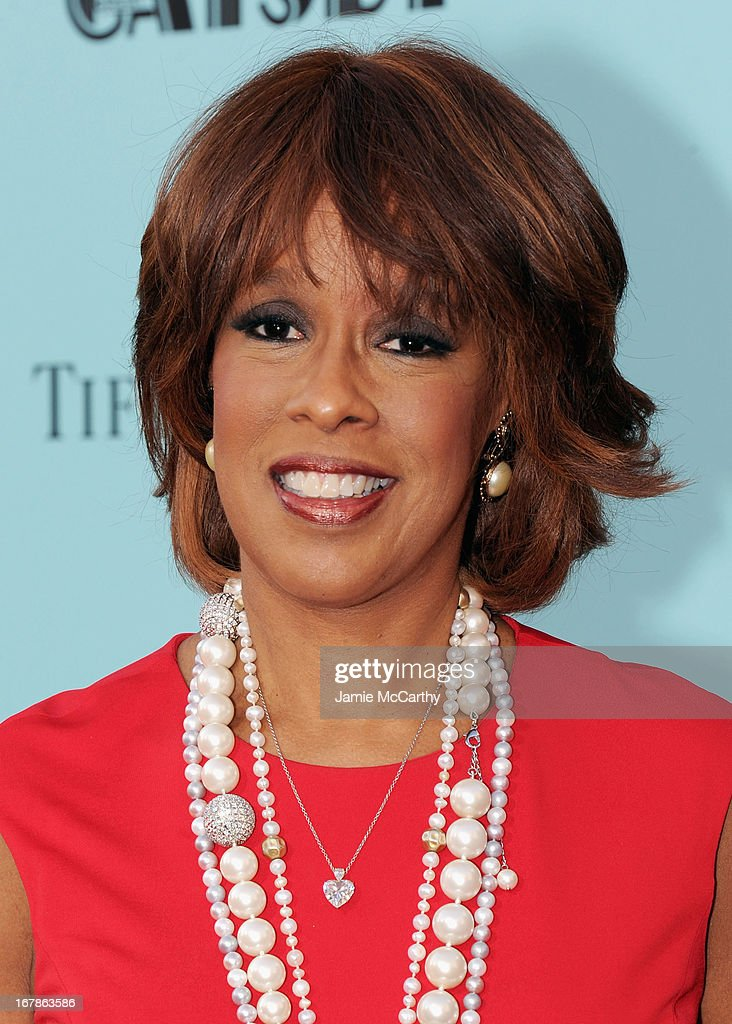 Gayle King attends the 'The Great Gatsby' world premiere at Avery Fisher Hall at Lincoln Center for the Performing Arts on May 1, 2013 in New York City.