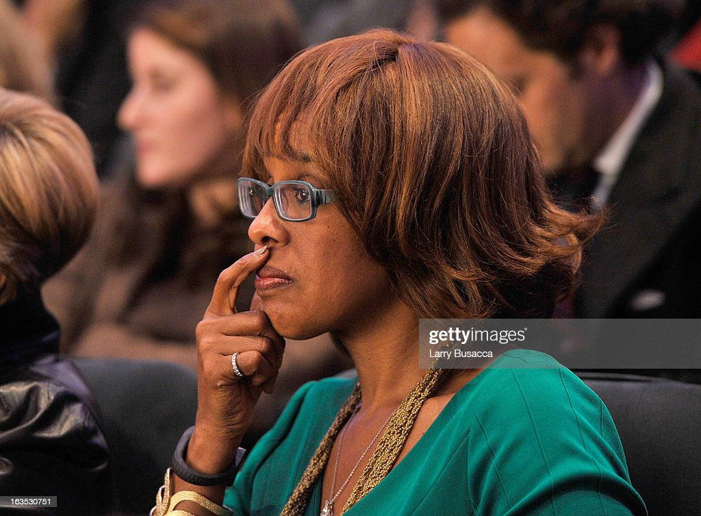 Gayle King attends Time Warner's Conversations on the Circle: A Conversation With Sheryl Sandberg, Chief Operating Officer, Facebook And Moderated By Nancy Gibbs, Deputy Managing Editor, TIME on March 11, 2013 in New York City.
