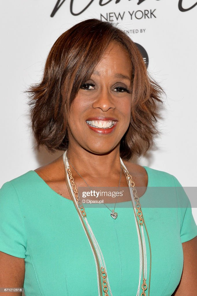 Gayle King attends Variety's Power of Women: New York at Cipriani Midtown on April 21, 2017 in New York City.