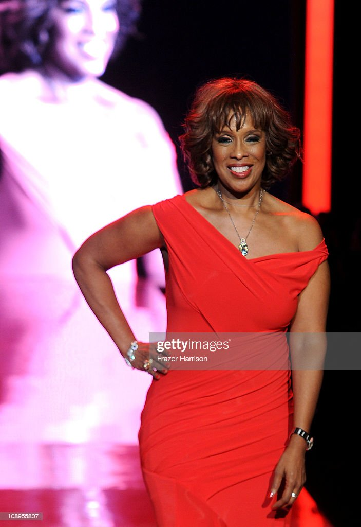 <a gi-track='captionPersonalityLinkClicked' href=/galleries/search?phrase=Gayle+King&family=editorial&specificpeople=215469 ng-click='$event.stopPropagation()'>Gayle King</a> walks the runway at the Heart Truth Fall 2011 fashion show during Mercedes-Benz Fashion Week at The Theatre at Lincoln Center on February 9, 2011 in New York City.