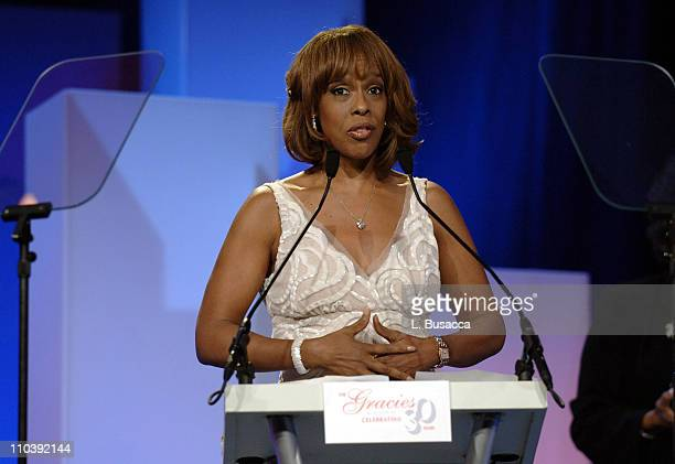 Gayle King winner of The Dove Real Beauty Award during American Women in Radio Television 30th Annual Gracie Allen Awards Show at New York Marriot...