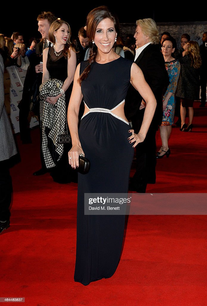 Gaynor Faye attends the National Television Awards at the 02 Arena on January 22, 2014 in London, England.