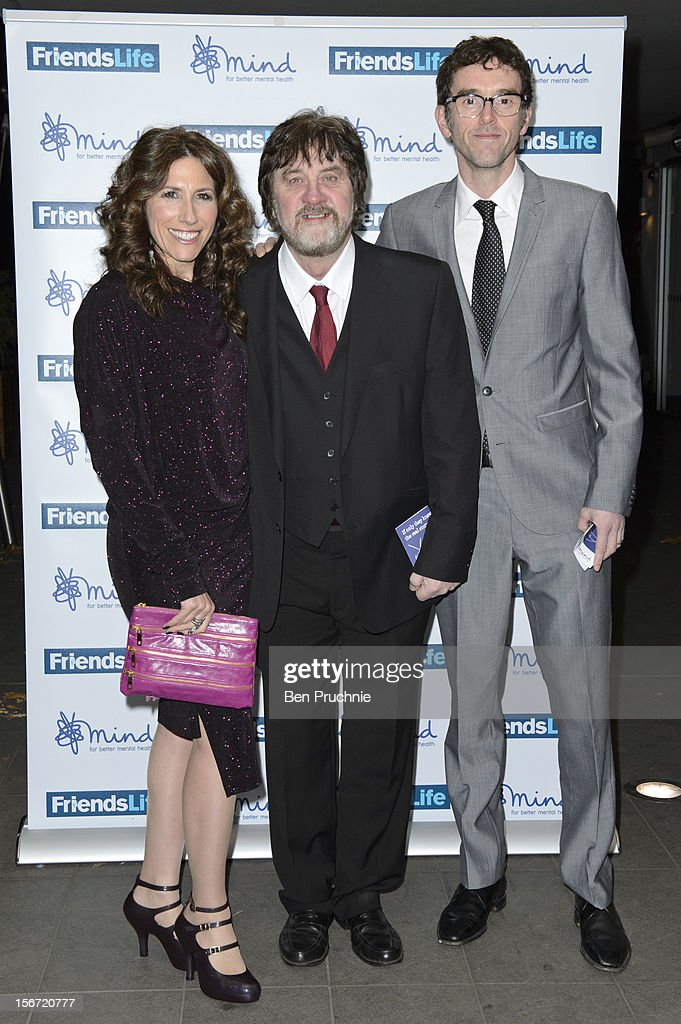 Gaynor Faye, Steve Halliwell and Mark Charnock attend the Mind Mental Health Media Awards at BFI Southbank on November 19, 2012 in London, England.