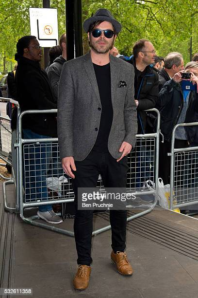 Gaz Coombes attends the Ivor Novello Awards at Grosvenor House on May 19 2016 in London England