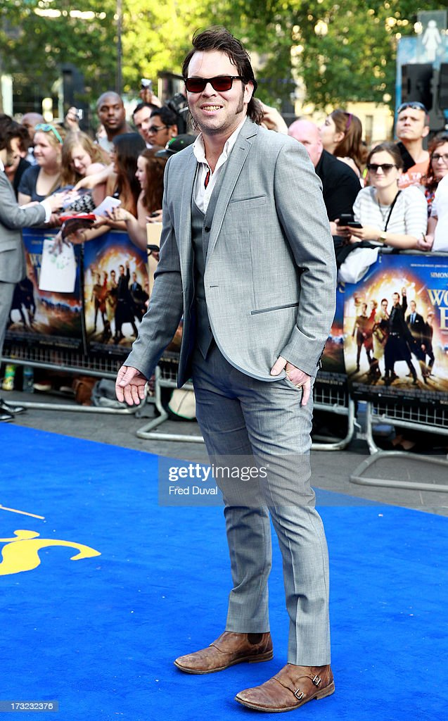 Gaz Coombes attends the World film Premiere of 'The World's End' at The Empire Cinema on July 10, 2013 in London, England.