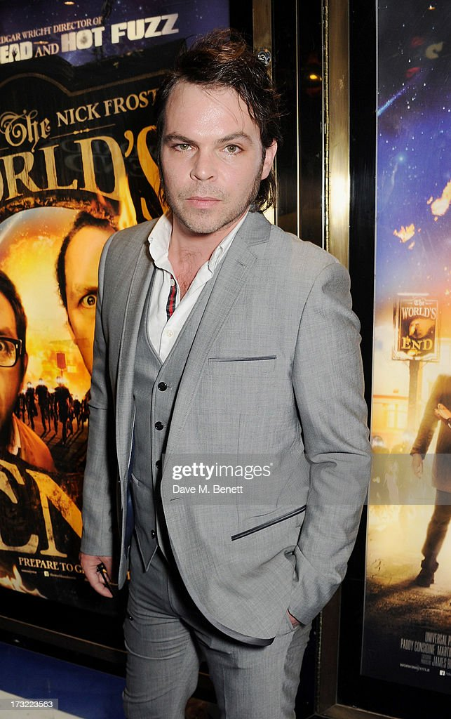 Gaz Coombes attends the World Premiere of 'The World's End' at Empire Leicester Square on July 10, 2013 in London, England.