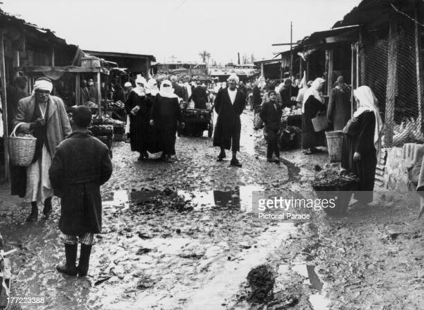Gaza Market Israel January 8th 1970