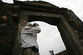 Gazdar an 88yearold takes photographs of the Bandra Fort on the occasion of world photography day on friday Burjor a former civil pilot trainer...