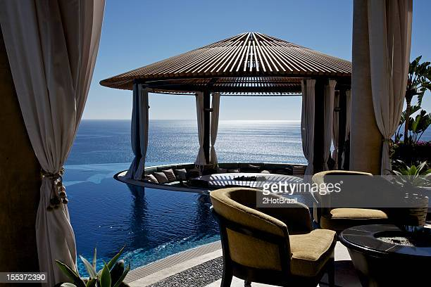 Gazebo at Luxury Resort