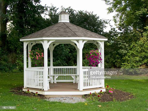 Gazebo in a Quiet Place