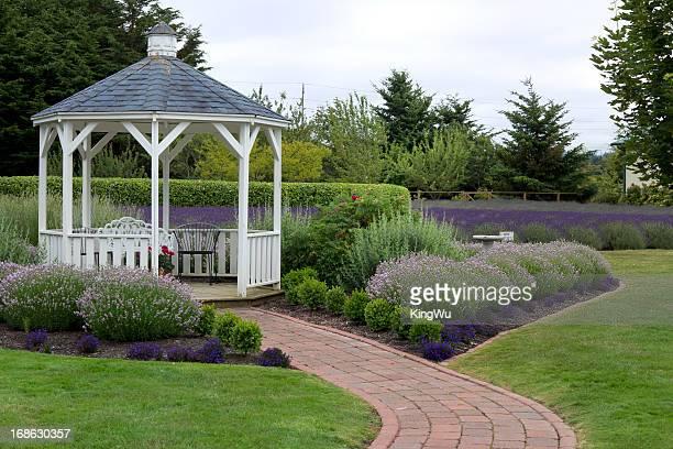 Gazebo in garden