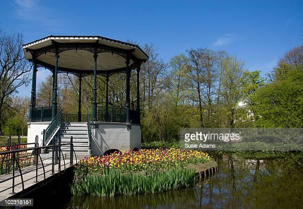 Gazebo in Vondel Park, Amsterdam