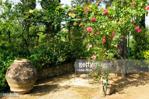 Gazebo with Roses