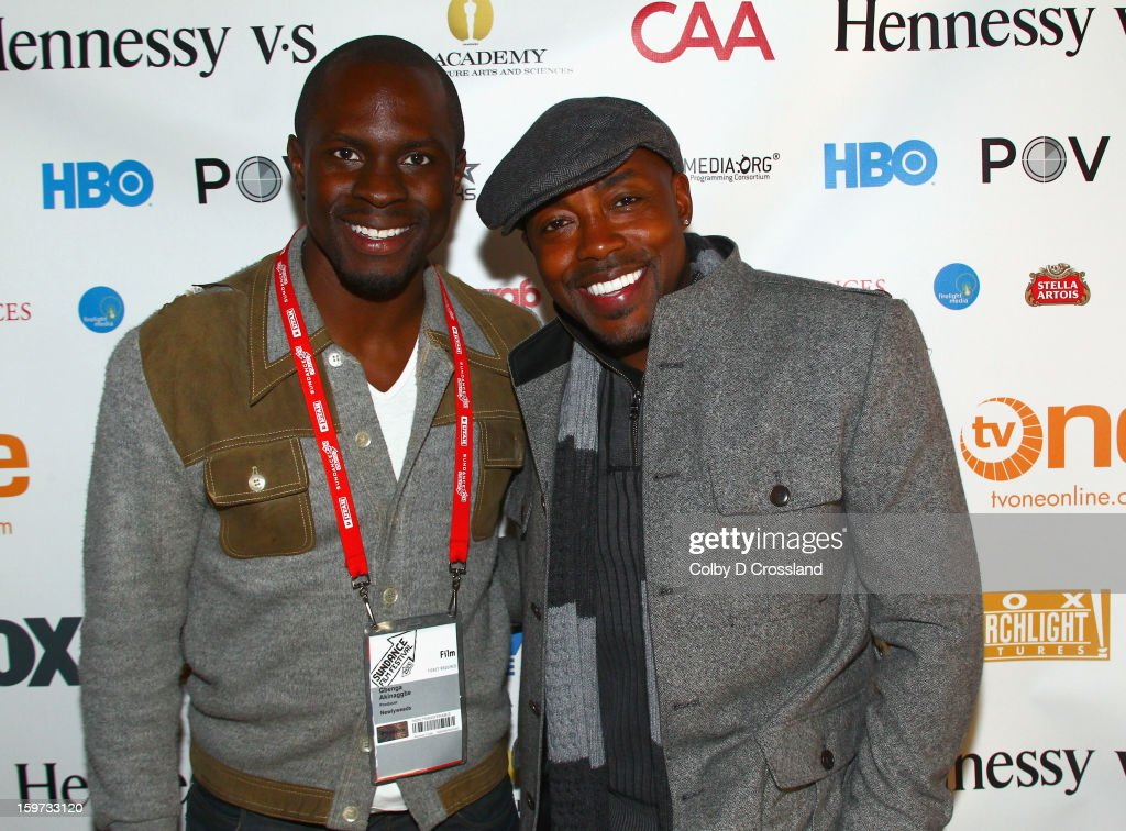 Gbenga Akinaggbe and Will Packer attend The Academy and Blackhouse Partner on Talk with Filmmaker Will Packer At Sundance at Buona Vita during the 2013 Sundance Film Festival on January 19, 2013 in Park City, Utah.