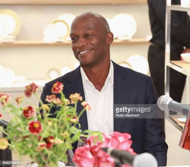 Gbenga Akinnagbe attends SiriusXM Host Bevy Smith Hosts A Radio Special Celebrating The Anniversary Of Andy Cohen's SiriusXM Channel Radio Andy at...