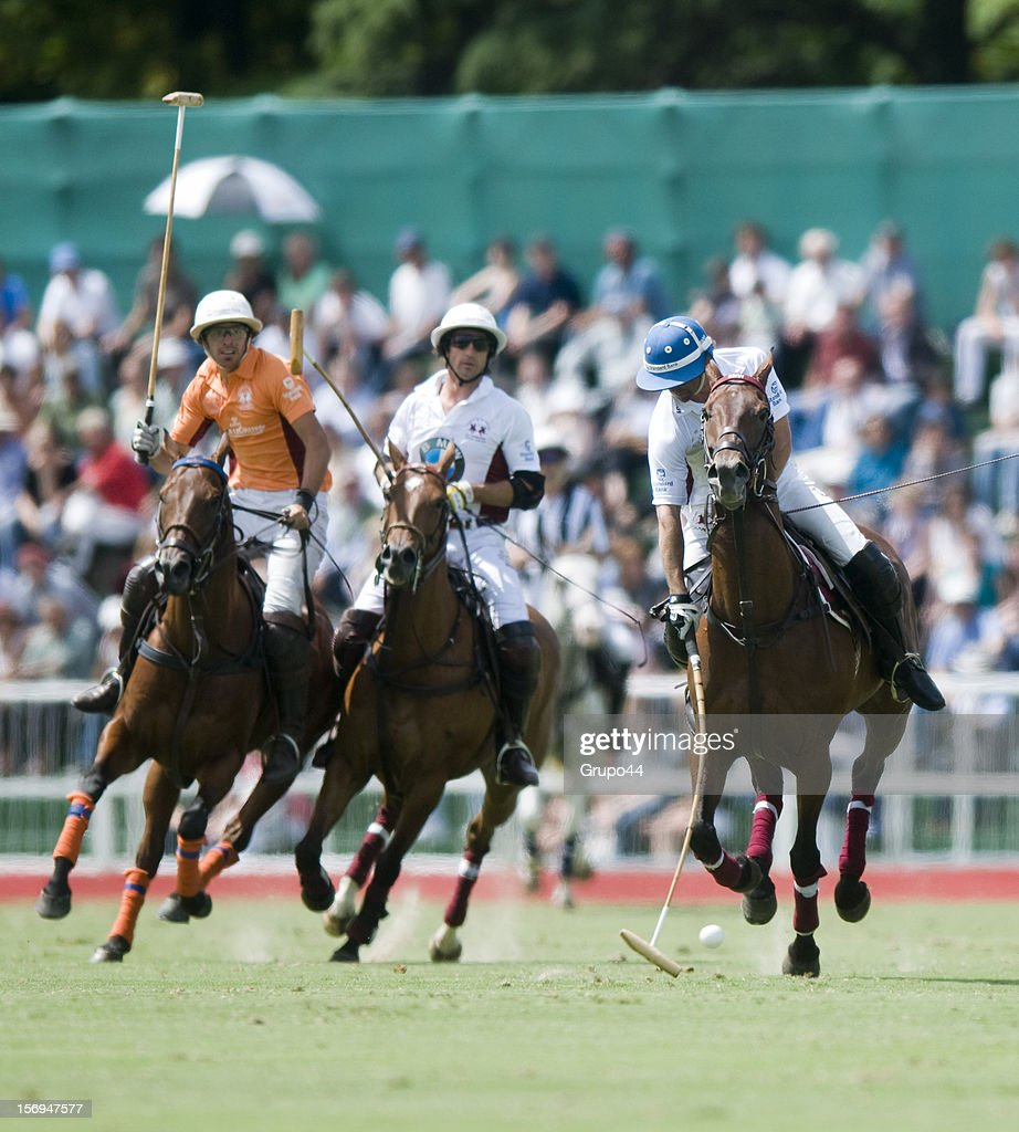 Caset of La Aguada in action during a polo match between La Aguada Las Monjitas and La Aguada as part of the 119th Argentine Open Polo Championship, at the Campo Argentino de Polo on November 25, 2012 in Buenos Aires, Argentina.