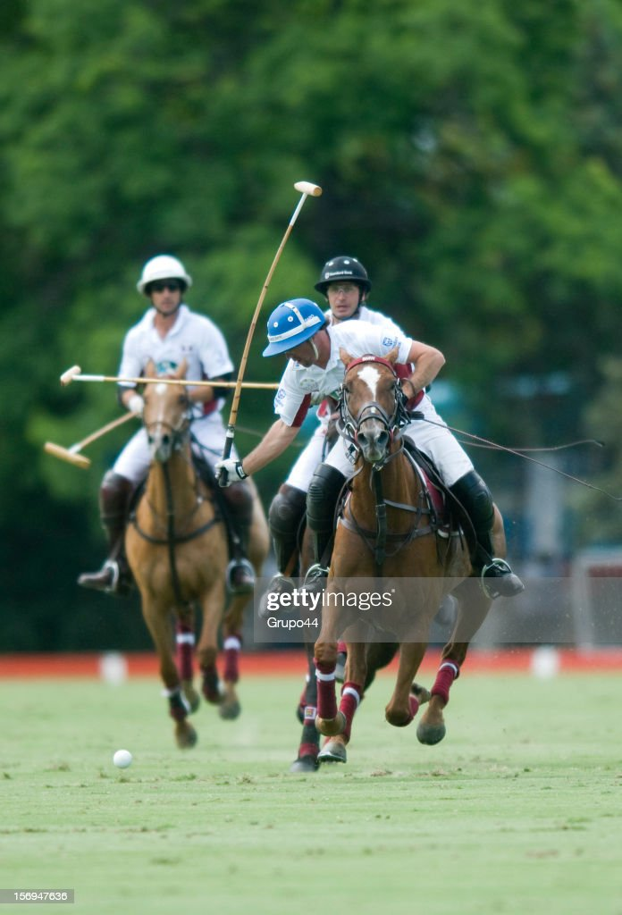 G.Caset of La Aguada in action during a polo match between La Aguada Las Monjitas and La Aguada as part of the 119th Argentine Open Polo Championship, at the Campo Argentino de Polo on November 25, 2012 in Buenos Aires, Argentina.