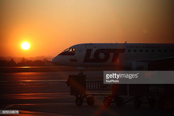 Gdansk Poland 2nd Dec 2014 Gdansk's Lech Walesa Airport first time reached 3 millions passengers handled during one year The average annual increase...