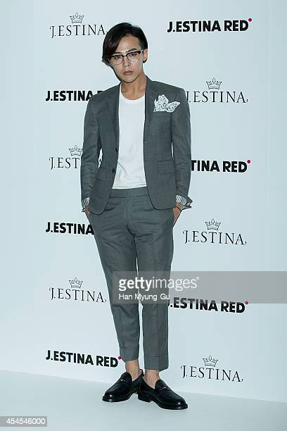 Dragon aka Kwon JiYong of South Korean boy band Bigbang attends the event for JESTINA and JESTINA RED 2014 FW Presentation 'One Door Two Wonder' on...