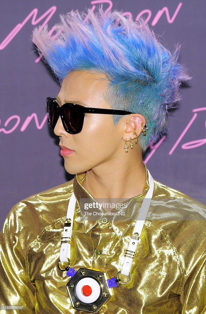 Dragon attends the 'AMBUSH' collaboration with GDragon of Bigbang on September 20 2012 in Seoul South Korea