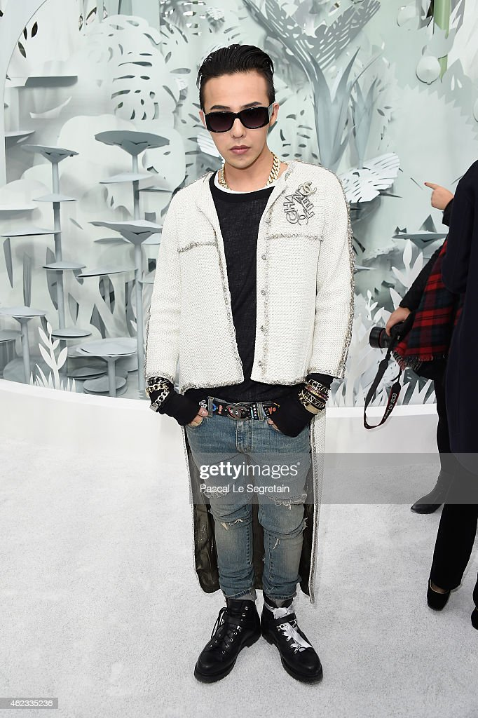 Dragon attends the Chanel show as part of Paris Fashion Week Haute Couture Spring/Summer 2015 on January 27 2015 in Paris France
