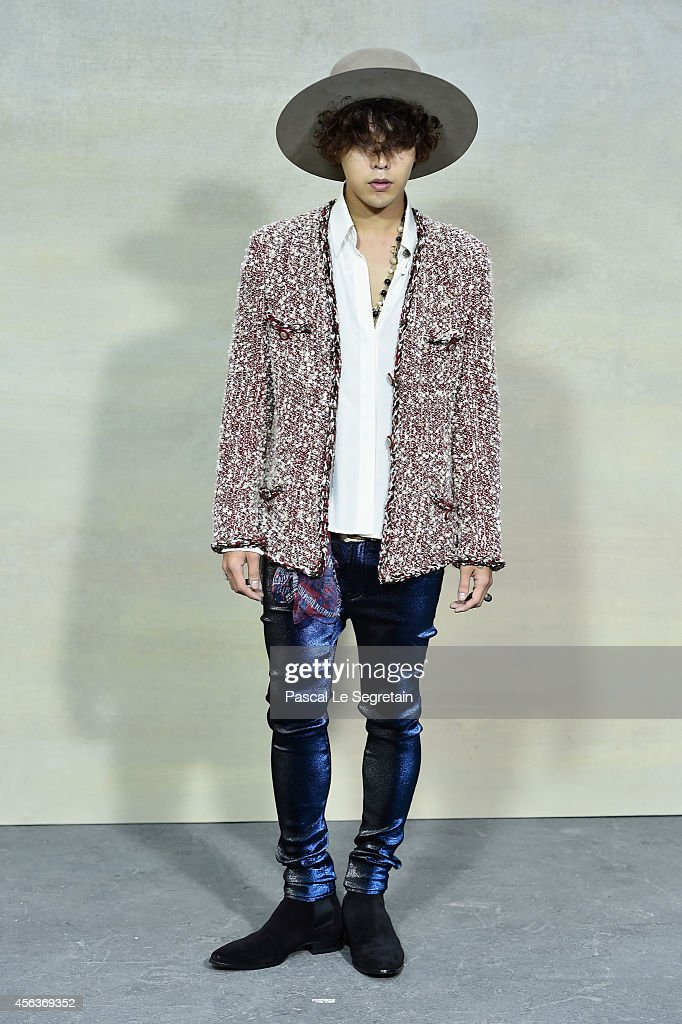Dragon attends the Chanel show as part of the Paris Fashion Week Womenswear Spring/Summer 2015 on September 30 2014 in Paris France