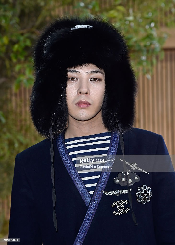 Dragon attends the Chanel Spring Summer 2016 show as part of Paris Fashion Week on January 26 2016 in Paris France