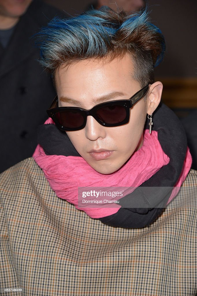 Dragon attends the Lanvin Menswear Fall/Winter 20142015 Show as part of Paris Fashion Week on January 19 2014 in Paris France