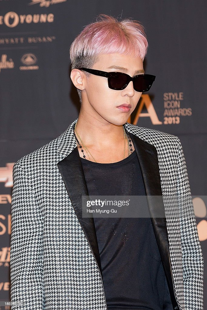 Dragon of South Korean boy band Bigbang attends 2013 Style Icon Awards at CJ EM Center on October 24 2013 in Seoul South Korea