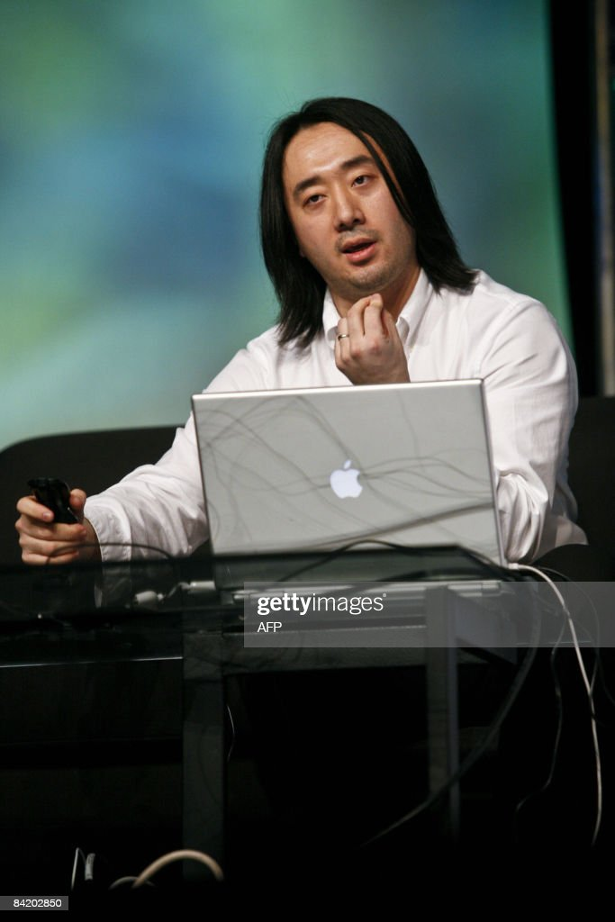 Ge Wang, co-founder of the software start-up Smule, demonstrates some of his latest innovations with music and computer programs during the Macworld Expo 2009 in San Francisco, CA, Wednesday, Jan. 7, 2009. Tens of thousands of Macintosh consumers as well as Apple engineers and developers attended the annual technology fair where new Mac-compatible products were showcased along with the release of Apple's latest computer gadgets and software updates. New versions of iWork and iLife were also announced. AFP PHOTO / Ryan Anson