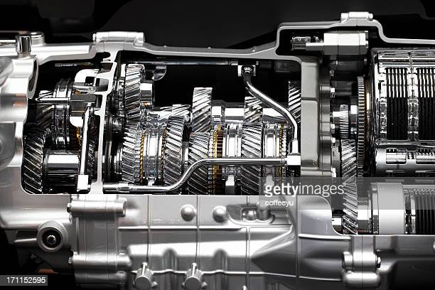 Gear Box Of Sports Car