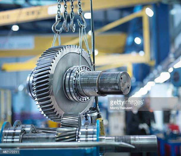 Gear for industrial gearbox in engineering factory