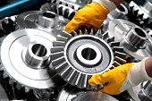 Gear Wheel and Worker