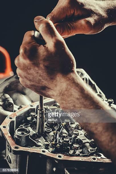 Gros CVT boîte de vitesses réparer
