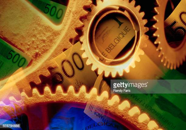 Gears and Belgian Currency