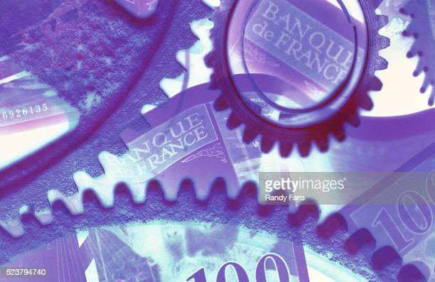 Gears and French Currency