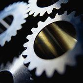 Gears, close-up