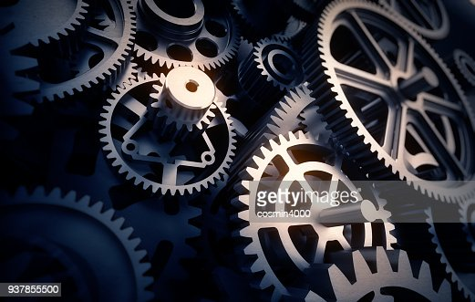 gears detail : Stock Photo