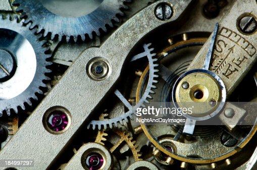 Gears in Antique Watch