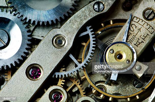 Gears in Antique Watch