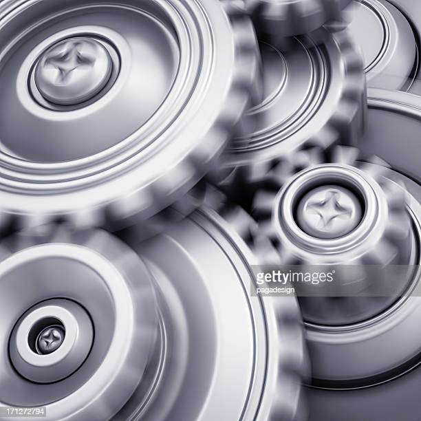 gears in motion