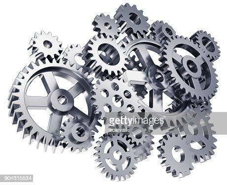 Gears or cogwheels : Stock Photo