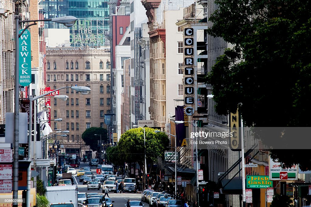 Geary Street, San Francisco : Stock Photo