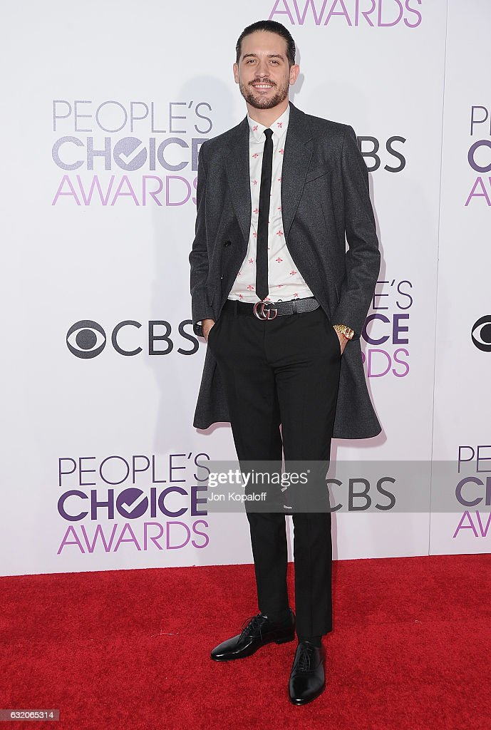 G-Eazy arrives at the People's Choice Awards 2017 at Microsoft Theater on January 18, 2017 in Los Angeles, California.
